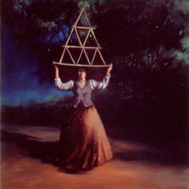 Balancing Act, 2000 Oil on linen 38 x 36 cm