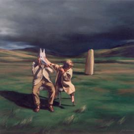 Magic Clothes, 1999 Oil on linen 46 x 50.5 cm