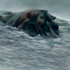Incoming Tide, 2007  Oil on linen  122 x 168 cm  cat.5