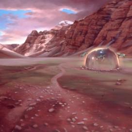 Biosphere II, 2002 Oil on linen 121.5 x 182.5 cm