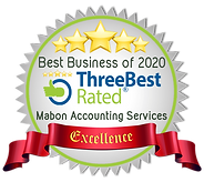 Three Best Rated - MAS Badge of Excellen