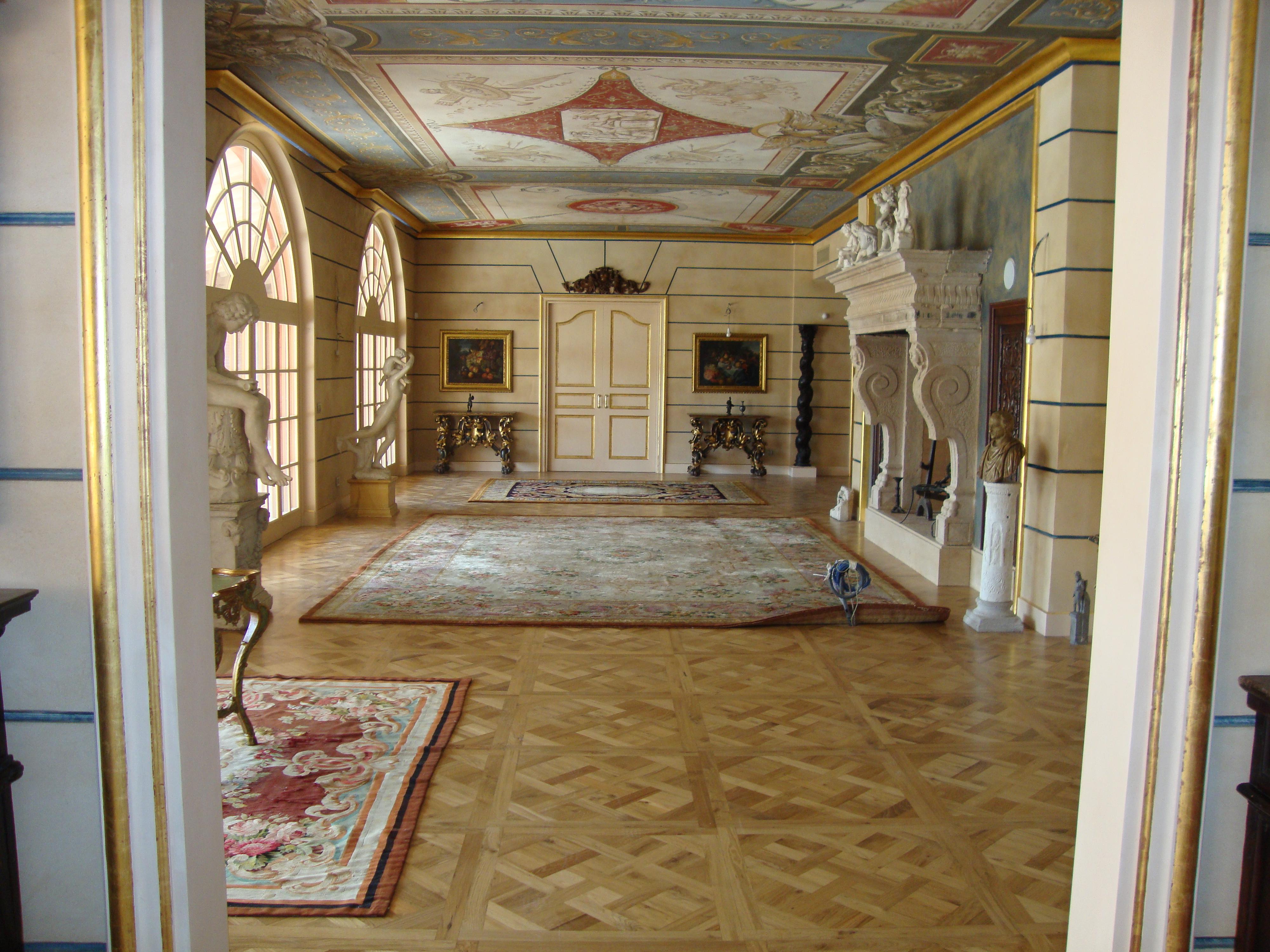 Versailles rovere nodato NEROPARQUET