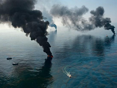 تلوث البحار والمحيطات