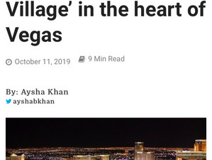 Our Imam Fateen featured in a news article