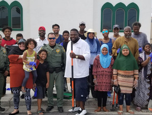 Al-Maun Community Clean up