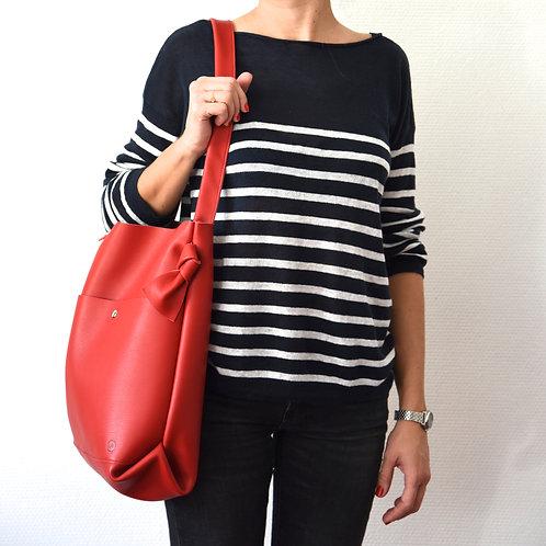 Bonnie médium poche - Rouge