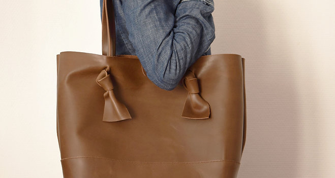 Mia Bag – Brown oiled leather