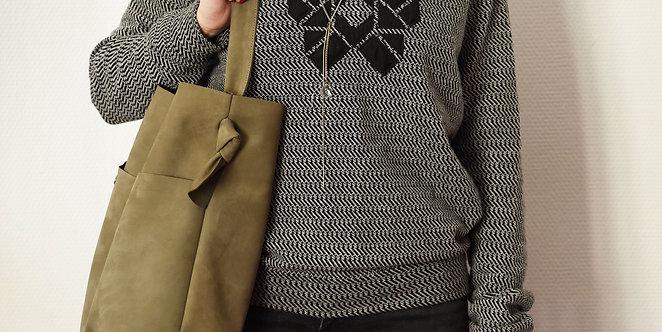 Bonnie Medium - Khaki color