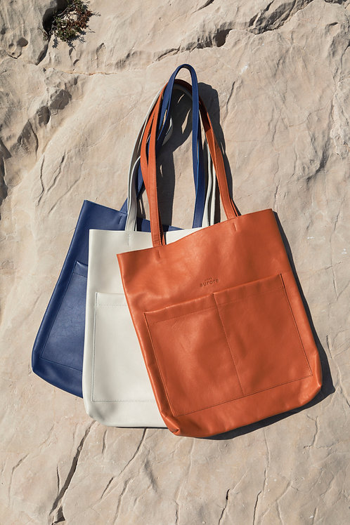 Le tote bag coloris bleu travail - précommande
