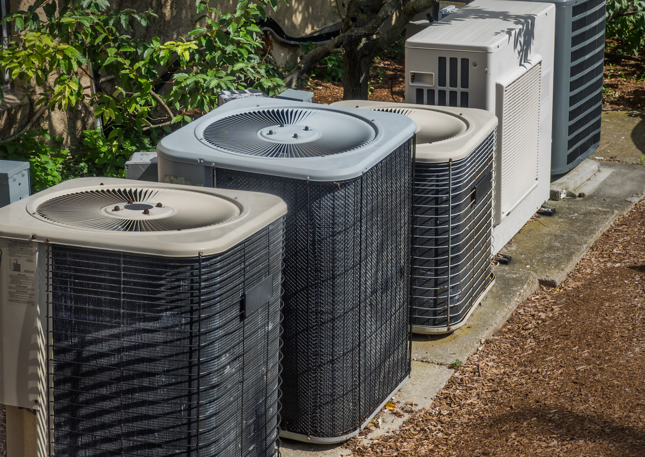 Heating and air conditioning units in ba