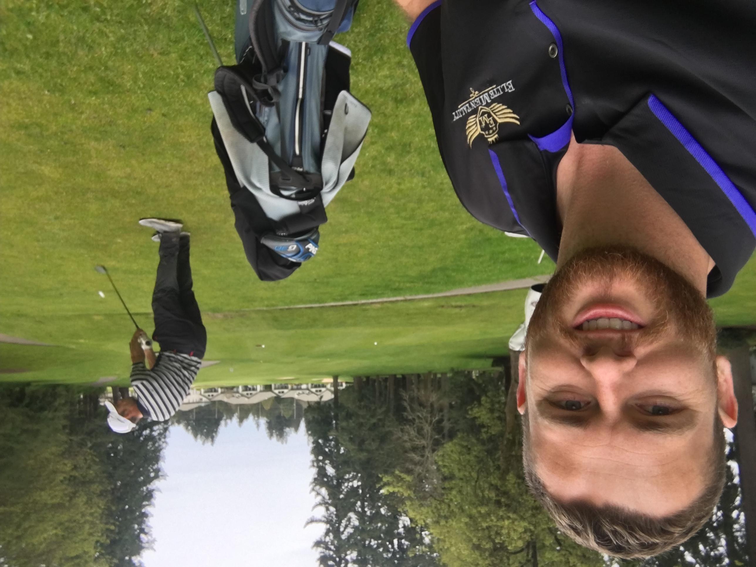 Observing golf