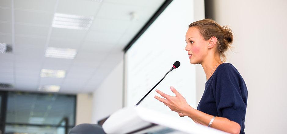 orador público