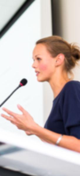 Speaker, Executive Coaching