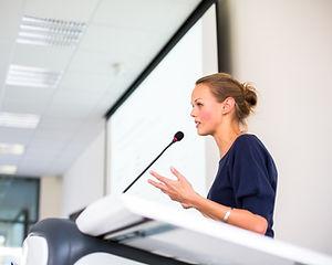 offentlig taler
