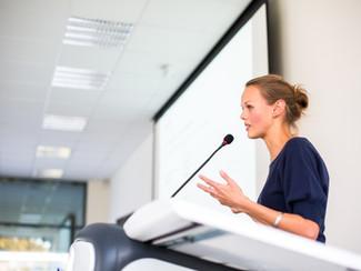 Talleres para intérpretes y public speaker