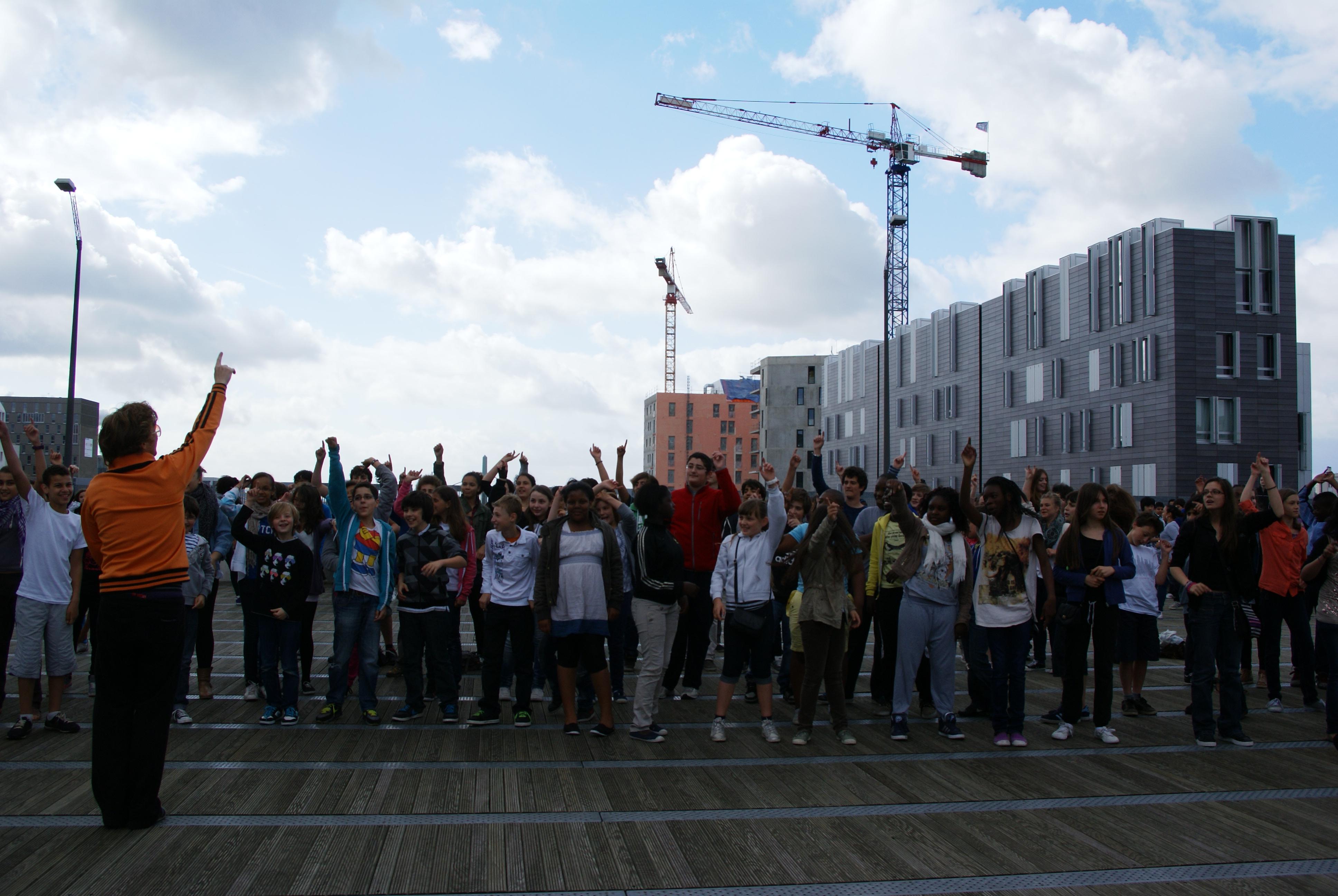 Flashmob en fin d'année !