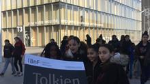 Tolkien en visite à la BNF