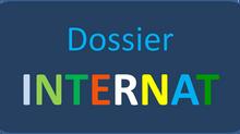 Dossier de candidature internat 2021-2022