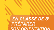 Orientation Post 3è, brochure ONISEP