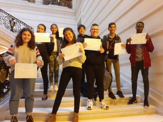 Les UPE2A reçus à La Sorbonne