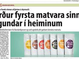 Responsible Foods vinnur að þróun á skyrnasli