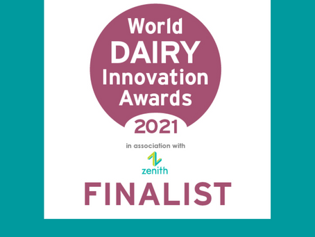 World Dairy Innovation Award 2021 Finalist!