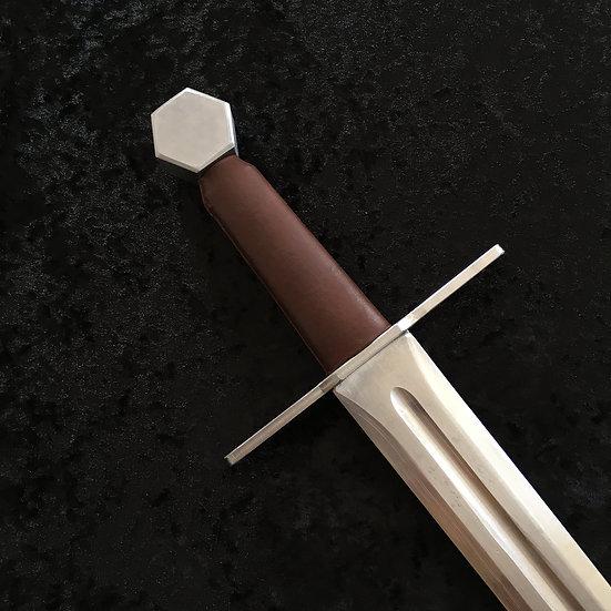 épée médiévale aluminium dural duraluminium escrime artistique cascade équestre