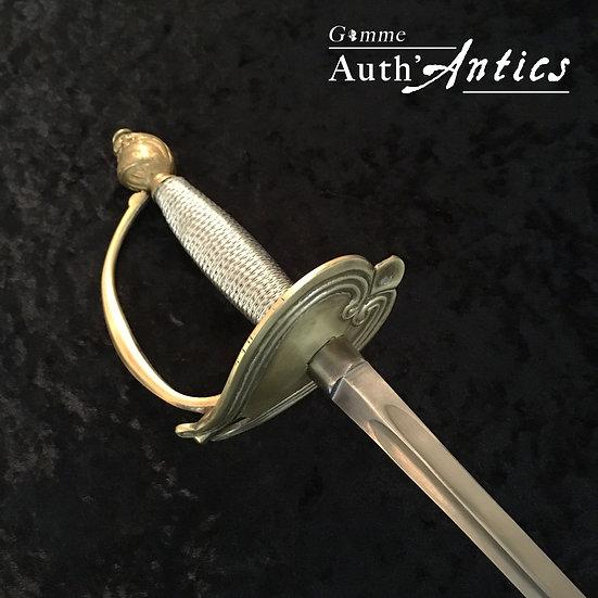 épée rapière escrime artistique ancienne de spectacle armes garcia épée duraluminium