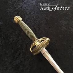 Épée de cour restaurée escrime artistique