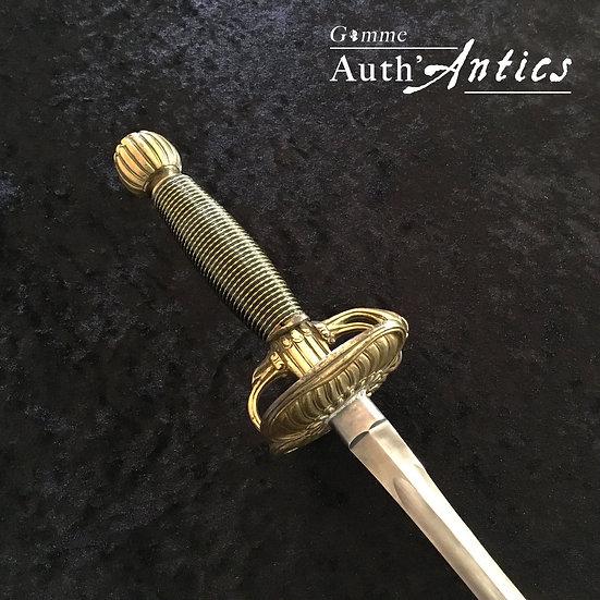 """Épée """"Fouquet"""" (Acier)"""