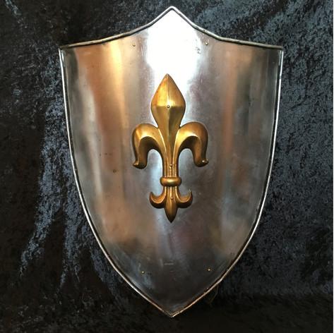 Fleur de Lys Shield
