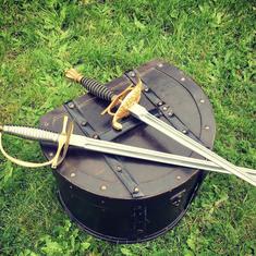 Épée dague escrime artistique duraluminium