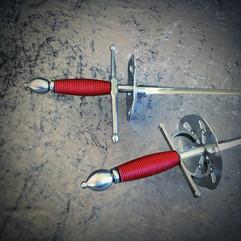 Rapière dague escrime artistique