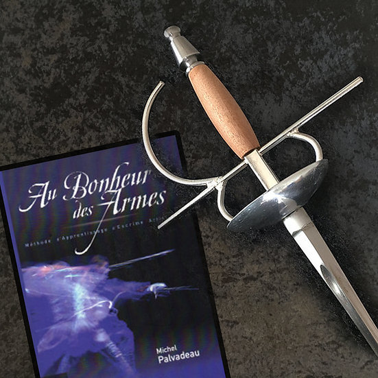 épée escrime artistique package livre