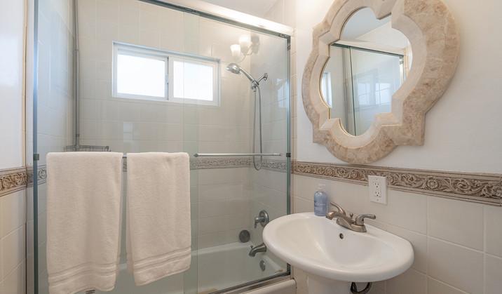 Bathroom off Living Room
