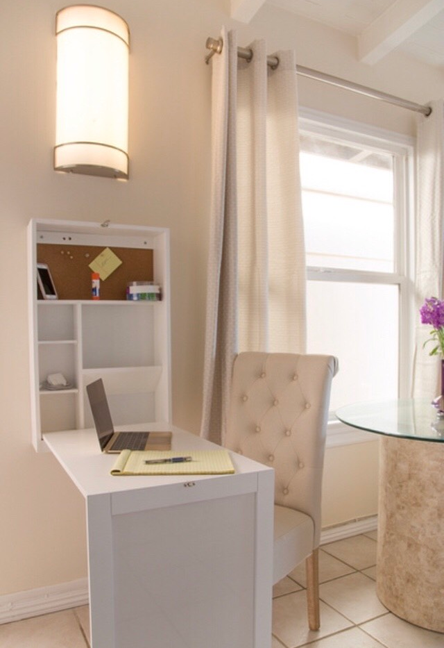 Desk for in home office work