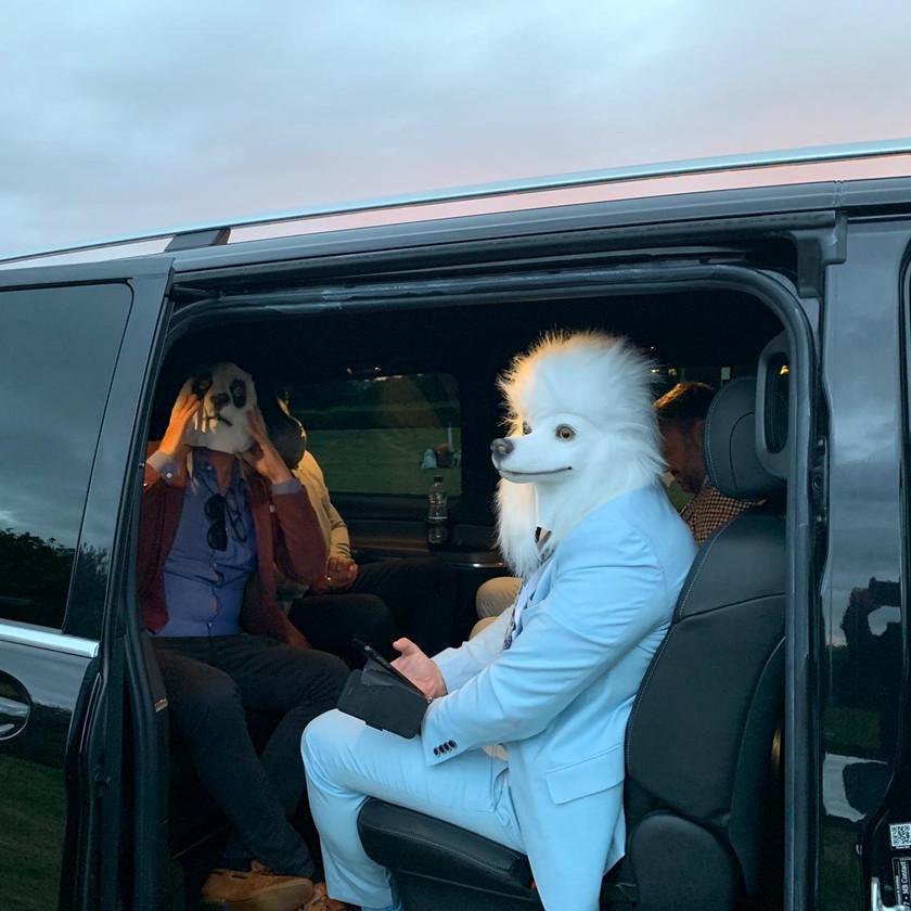 V.I.P. guests at Royal Ascot in Mercedes-Benz V-Class
