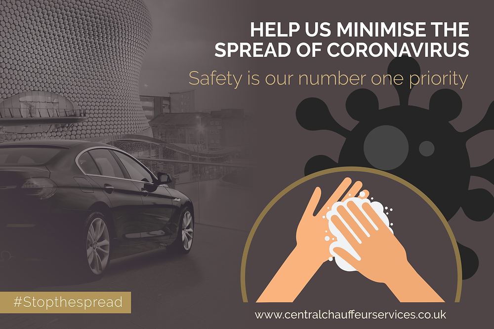 Coronavirus Safety is our number one priority