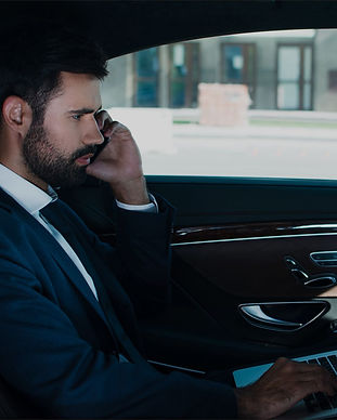 Business Chauffeur services at Central Chauffeur Services