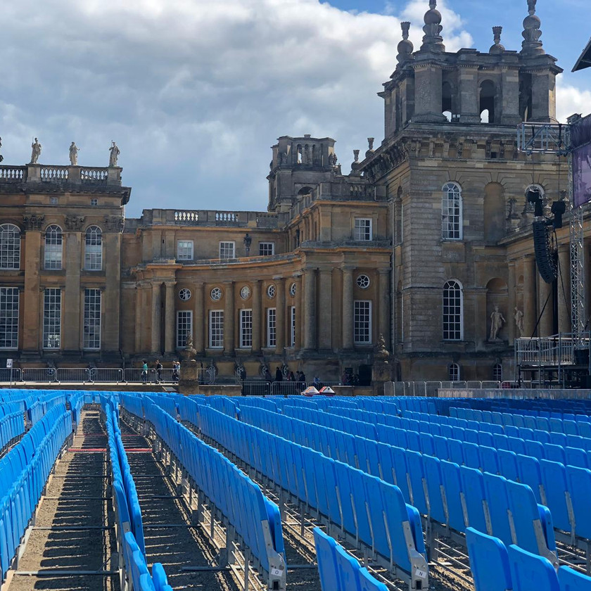 Blenheim Palace and Nocturne stage