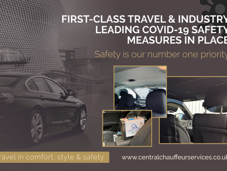 First-class Travel & Industry Leading Covid-19 Safety Measures In place