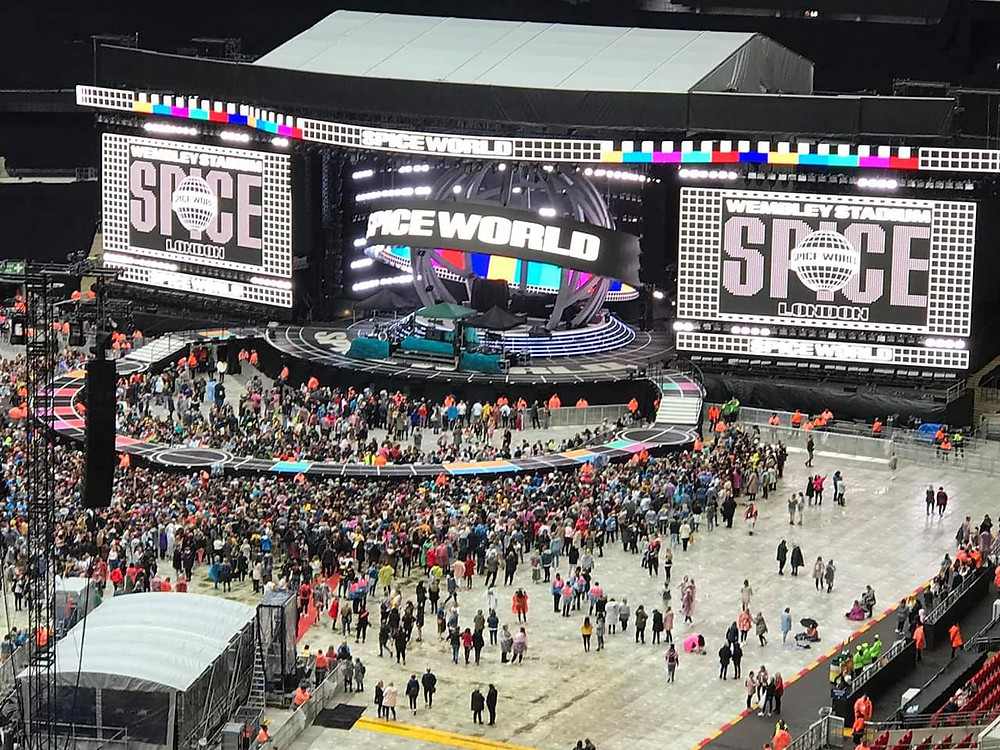 Spice Girls World Tour 2019 stage