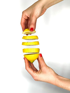 Zitronenscheiben - Erfrischung