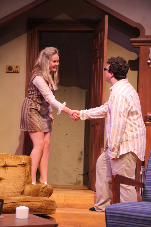 Barbara in PLAY IT AGAIN, SAM by Woody Allen  Directed by Peter Moore Artistry MN