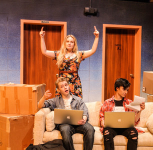 Shelley in THE EARTH IS FLAT by Todd Almond  Directed by Richard Hess Cohen Family Studio Theater