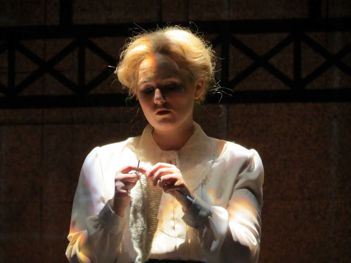 Prison Wardress in HER NAKED SKIN by Rebecca Lenkiewicz  Directed by Richard Hess Patricia Corbett Theater
