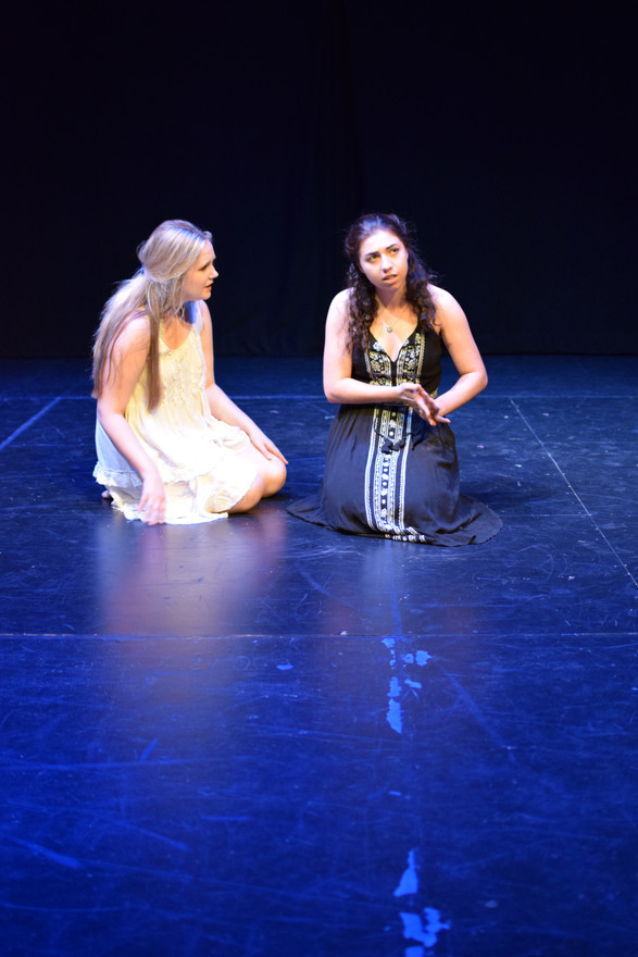 Ismene in ANTIGONE  Directed by AC Horton  Shakespeare Theatre of New Jersey Apprentice Company Photo by Sarah Gordon