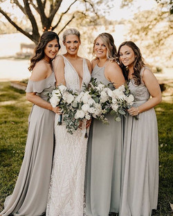 Beautiful bridesmaids she can't say I do