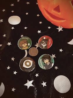 ALiCE Character Button (Single)