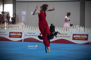 DogDance Leipzig 08-19 Cora und Pina FS